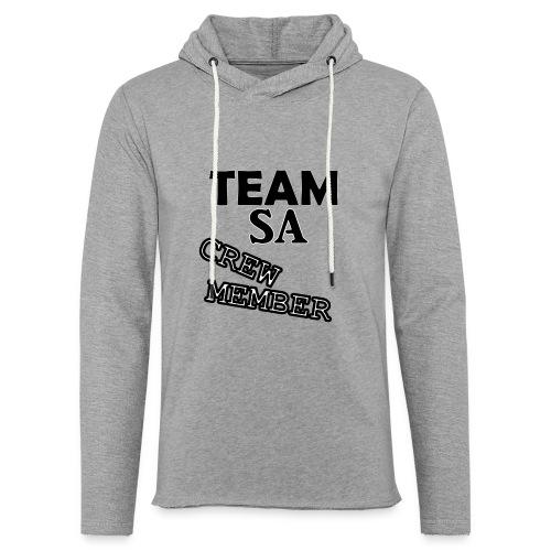 Team SA Crew Member Logo - Lätt luvtröja unisex