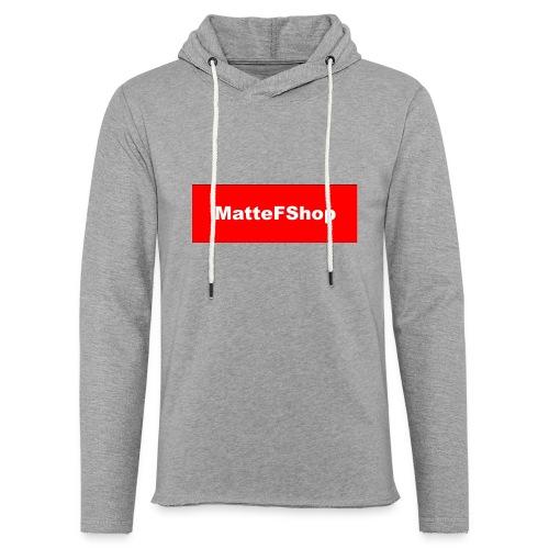 Magliette Felpe ed Accessori (MatteFShop Original) - Felpa con cappuccio leggera unisex