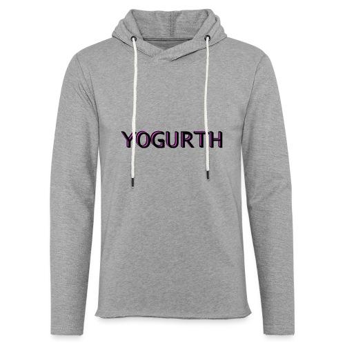 YOGURTH black 3D - Felpa con cappuccio leggera unisex