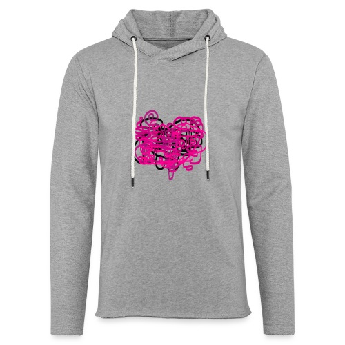 delicious pink - Light Unisex Sweatshirt Hoodie