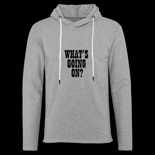What's Going On? The Snuts - Light Unisex Sweatshirt Hoodie