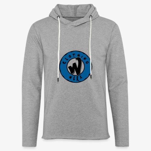 WERK logo - Sweat-shirt à capuche léger unisexe