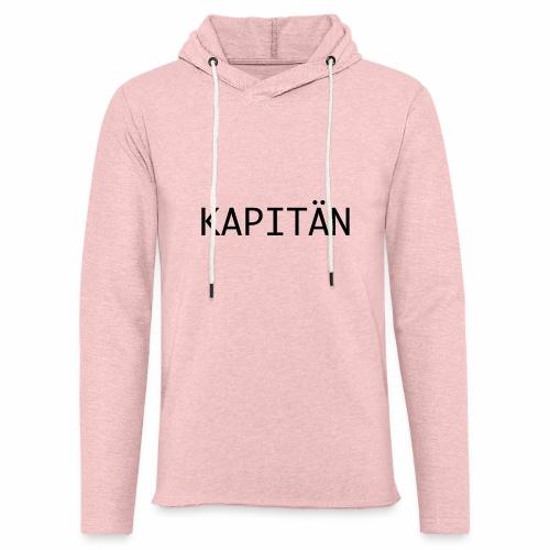 Kapitän - Leichtes Kapuzensweatshirt Unisex