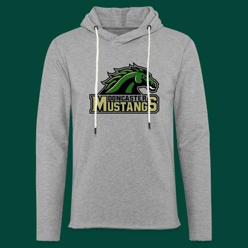 mustangs logo 2019v4 - Light Unisex Sweatshirt Hoodie
