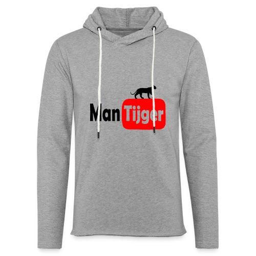 mantijger - Lichte hoodie unisex