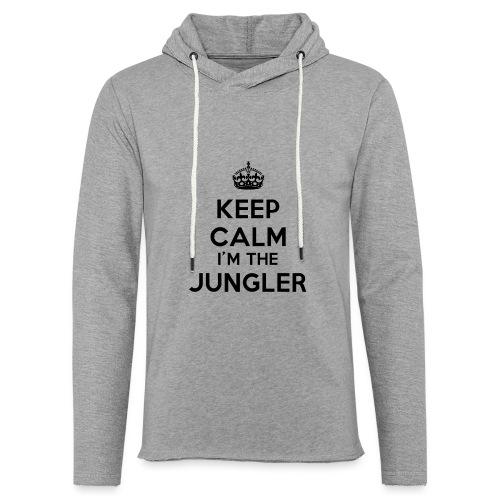 Keep calm I'm the Jungler - Sweat-shirt à capuche léger unisexe