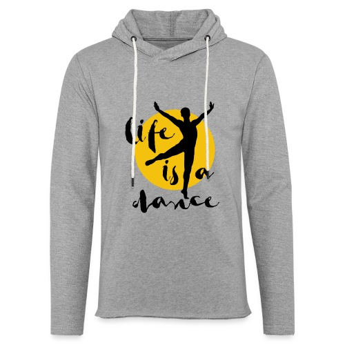 Ballett Tänzer - Leichtes Kapuzensweatshirt Unisex