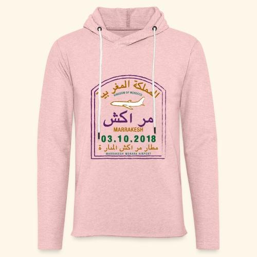 marrakeche - Sweat-shirt à capuche léger unisexe