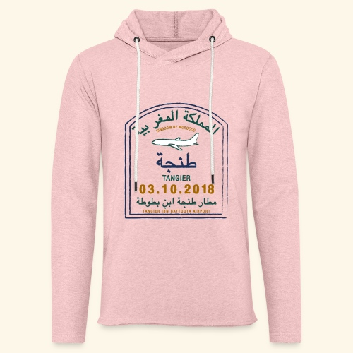 Tanger - Sweat-shirt à capuche léger unisexe