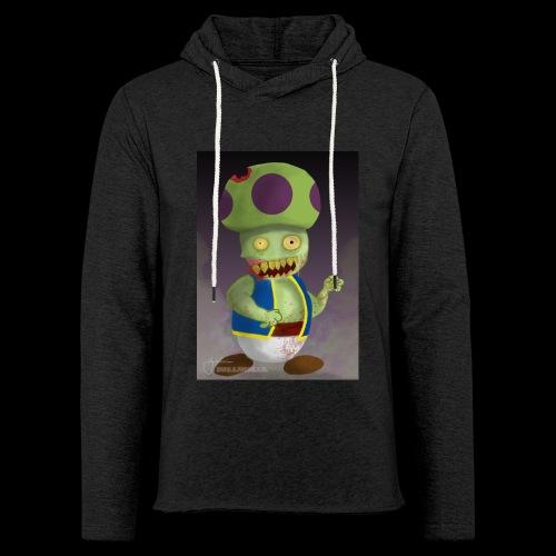 SuperMario: Zombie Toad - Lichte hoodie unisex