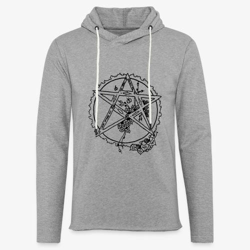 Flowergram - Light Unisex Sweatshirt Hoodie