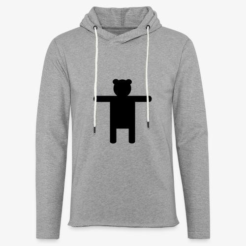 Epic Ippis Entertainment logo desing, black. - Light Unisex Sweatshirt Hoodie
