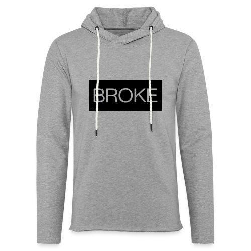 BrokeBrand - Lichte hoodie unisex