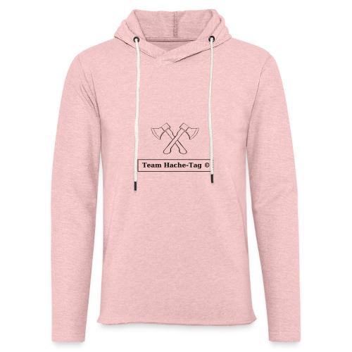 Logo Team Hache-Tag - Sweat-shirt à capuche léger unisexe