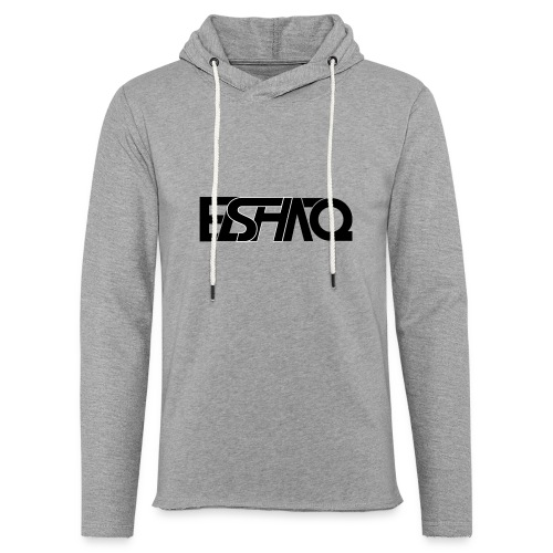 elshaq black - Light Unisex Sweatshirt Hoodie