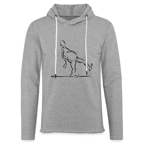 Lean Back Doodle - Light Unisex Sweatshirt Hoodie