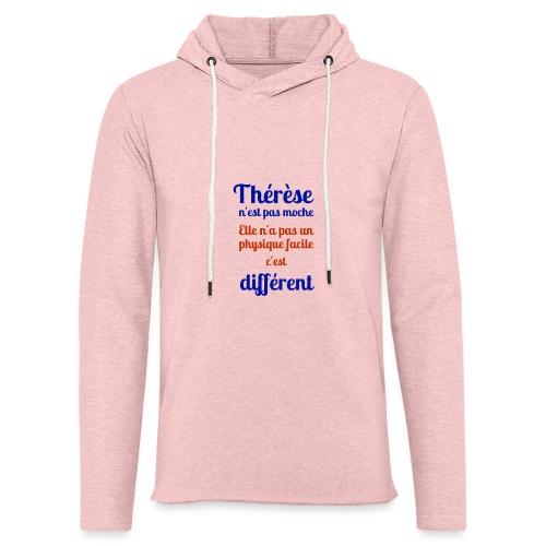 Thérèse - Sweat-shirt à capuche léger unisexe