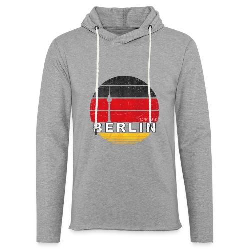 BERLIN, Germany, Deutschland - Light Unisex Sweatshirt Hoodie