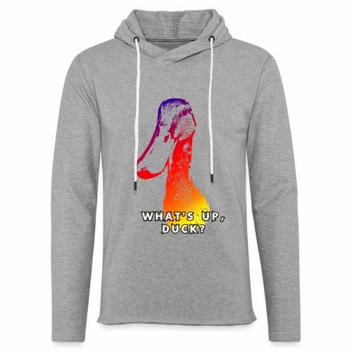 what's up duck - Color - Light Unisex Sweatshirt Hoodie