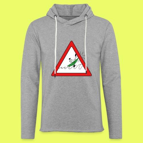 Kajak Unfall im Dreieck - Leichtes Kapuzensweatshirt Unisex