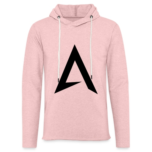 alpharock A logo - Light Unisex Sweatshirt Hoodie