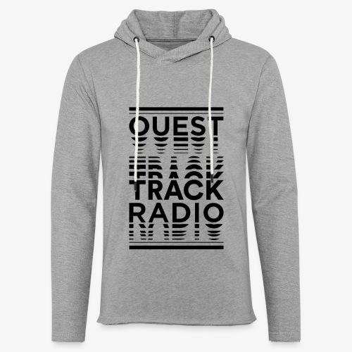 Logo Vertical Grand Noir - Sweat-shirt à capuche léger unisexe