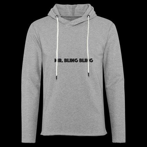 bling bling - Leichtes Kapuzensweatshirt Unisex