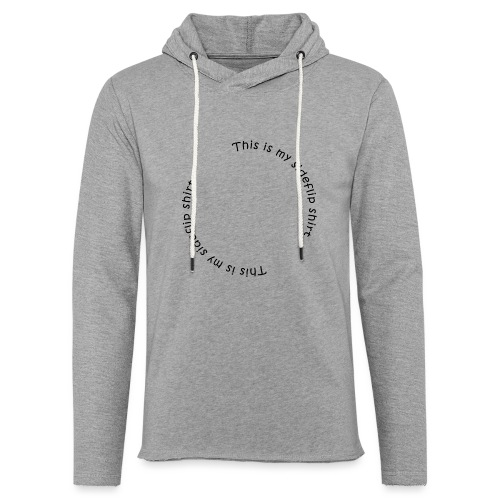 This is my sideflips shirt - Let sweatshirt med hætte, unisex