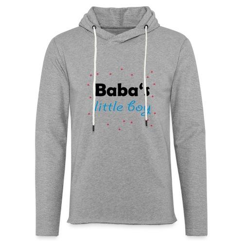 Baba's litte boy Babybody - Leichtes Kapuzensweatshirt Unisex