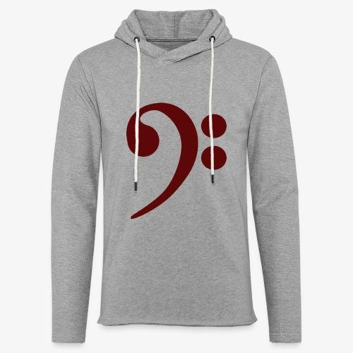 Bass-Key-4 - Leichtes Kapuzensweatshirt Unisex