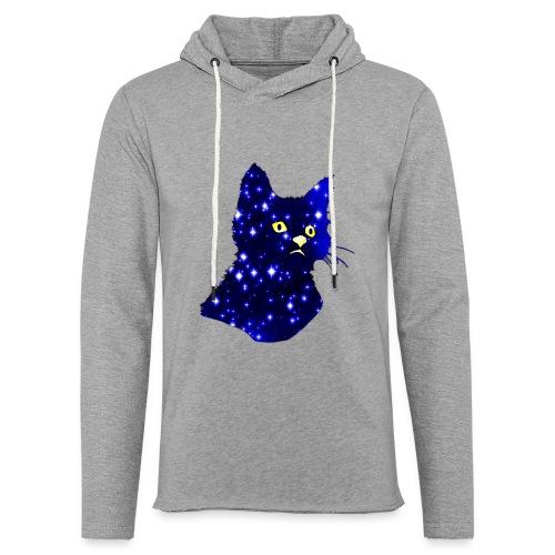 Galactic Cat - Sweat-shirt à capuche léger unisexe
