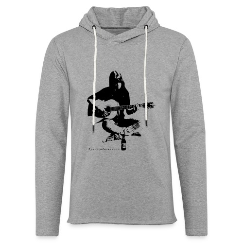 Cynthia Janes guitar BLACK - Light Unisex Sweatshirt Hoodie