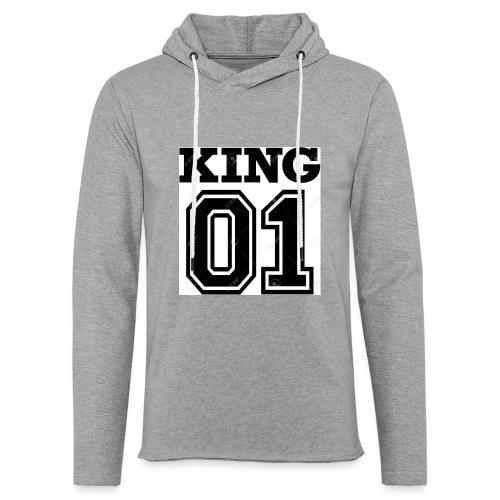 King 01 - Sweat-shirt à capuche léger unisexe
