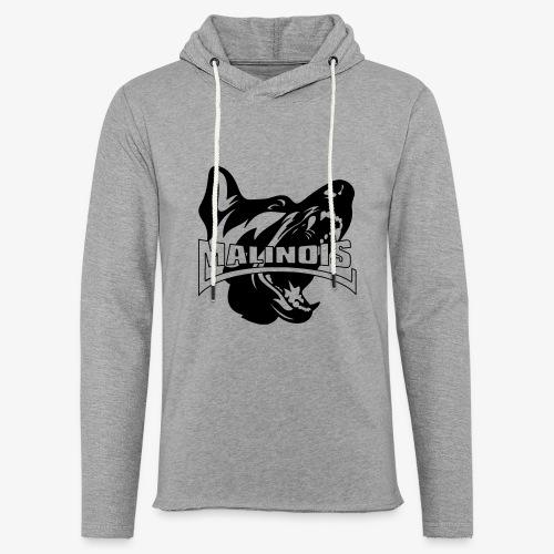 malinois - Sweat-shirt à capuche léger unisexe