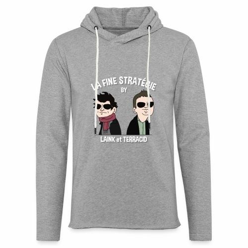 lafinestratégie - Sweat-shirt à capuche léger unisexe