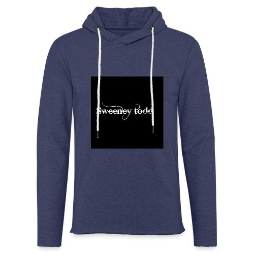 Sweney todd - Let sweatshirt med hætte, unisex