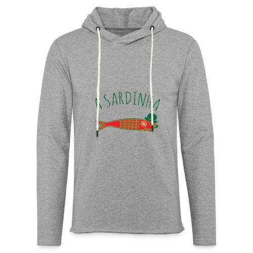 A Sardinha - Bandeira - Sweat-shirt à capuche léger unisexe