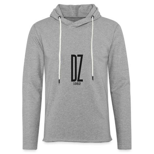 Logo transparent noir DZ 1962 - Sweat-shirt à capuche léger unisexe