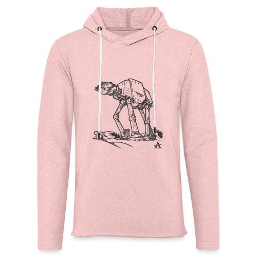 AT AT Walker ligne d'esquisse - Sweat-shirt à capuche léger unisexe