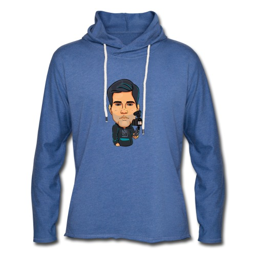Logo By Alban - Sweat-shirt à capuche léger unisexe