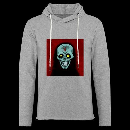 Ghost skull - Light Unisex Sweatshirt Hoodie
