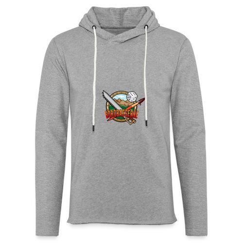 Bordbasserne - Let sweatshirt med hætte, unisex