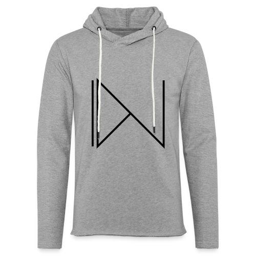 Icon on sleeve - Lichte hoodie unisex