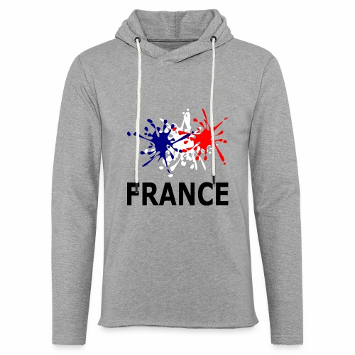 Bleu Blanc Rouge France - Light Unisex Sweatshirt Hoodie