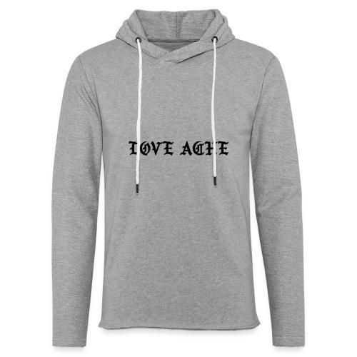 LOVE ACHE - Lichte hoodie unisex