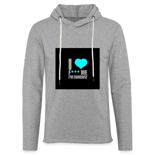 I Love FMIF Badge - Sweat-shirt à capuche léger unisexe
