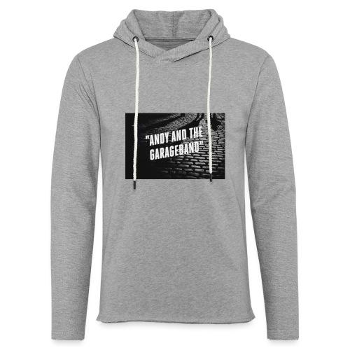Black and White - Lett unisex hette-sweatshirt