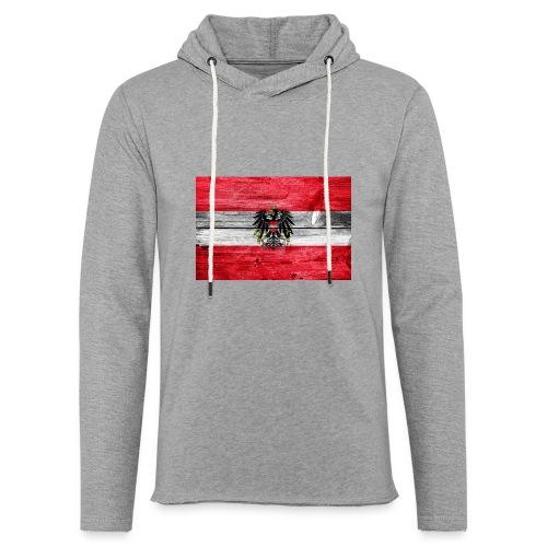 Austria Holz - Leichtes Kapuzensweatshirt Unisex