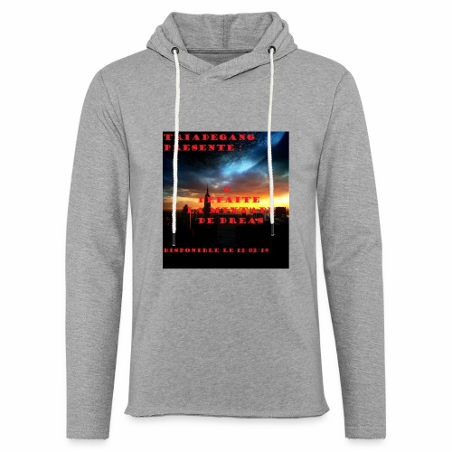 TRIADE GANG - Sweat-shirt à capuche léger unisexe