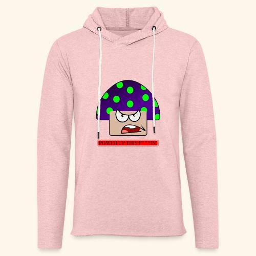 Angry mushroom - Felpa con cappuccio leggera unisex